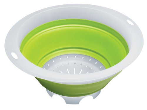 Progressive International 5-Quart Collapsible Colander, Green by Unknown 5 Quart Colander