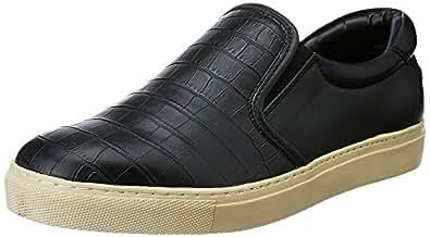 BATA Men's Kors Black Loafers and Moccasins - 7 UK/India (41 EU)(8516508)