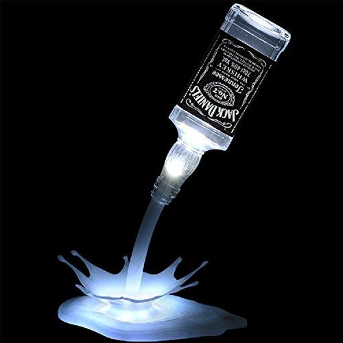 RUXMY Lámpara de Mesa LED luz de Noche lámpara de Botella de...