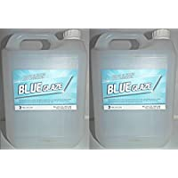 Bleu Glaze Nettoyant WC calcaire Remover et détartrant–efficace sur les bactéries Y Compris les Salmonelles, E. coli et isolantes, 2 x 5L