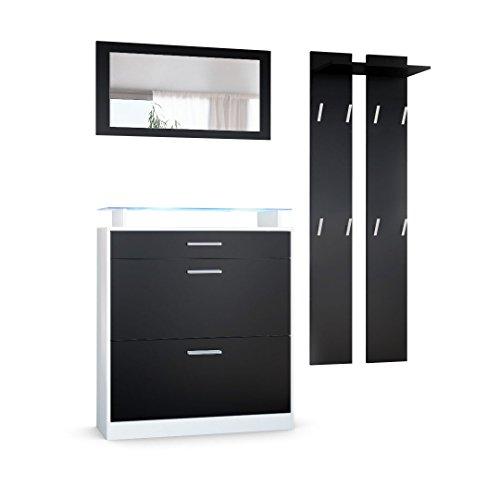 garderobe mit schuhschrank. Black Bedroom Furniture Sets. Home Design Ideas