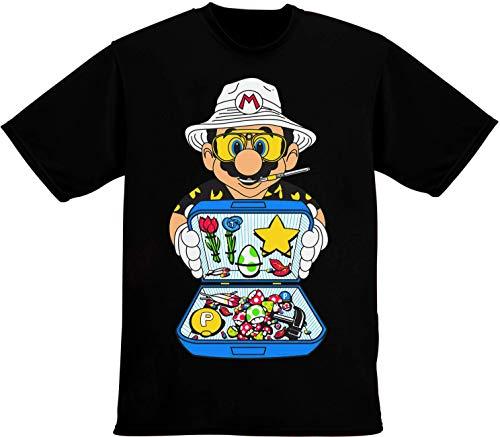 Film Character Iconic Cartoon Parody Las Vegas Summer Festival Herren T-Shirt Extra Large