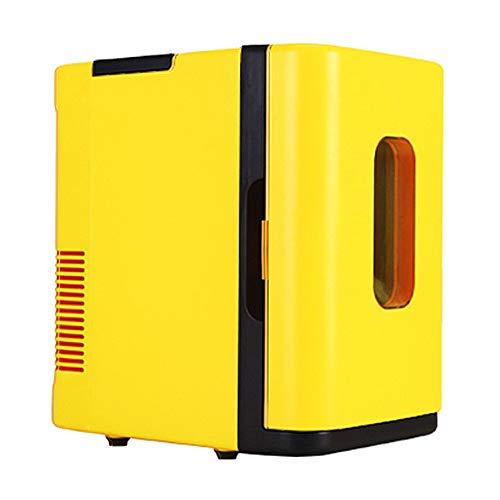 NCBH Tragbarer Minikühlschrank - Auto-Kühlschrank Elektrischer Kühler und Wärmer - 220 V AC / 12 V DC Tragbares thermoelektrisches System (10 l) Leise Rv-power-systeme