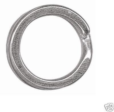VMC Sprengringe 3561 extra stark rostfrei 10 Stück Stahl Tiefseeangeln silber