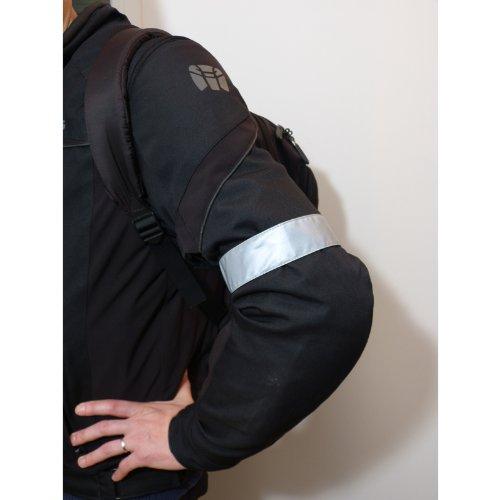 Motomod - Brassard Reflecto Argent - Taille : 30 cm - Couleur : Argent [Divers]