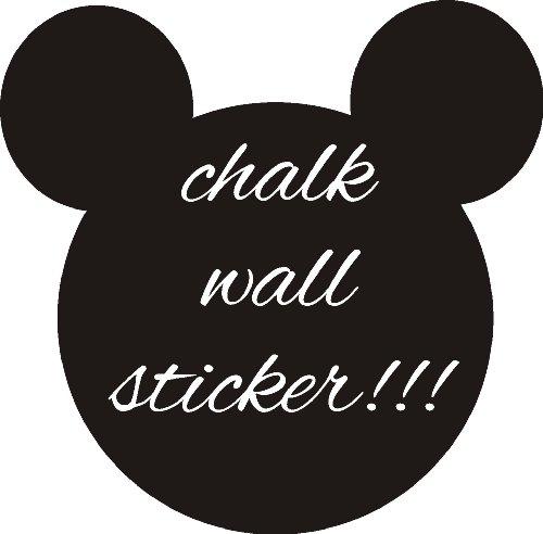 Mickey Mouse Kreide Board Sticker Wall Art Kinder Mädchen Jungen Home Schlafzimmer DIY, 40 x 40 cm