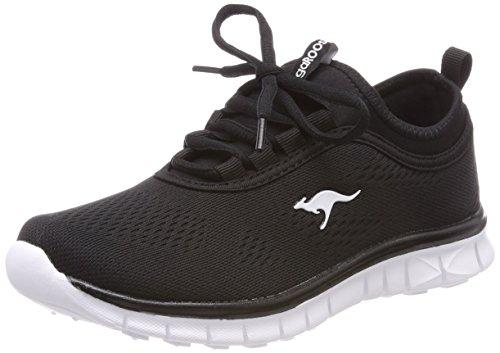 KangaROOS Damen K-Run Neo Sneaker, Schwarz (Jet Black 5001), 38 EU