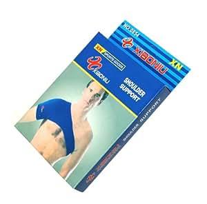 Bande bandage gaine pour épaule - élastique. Echauffante. Pour sport musculation fitness aerobic ... - C1808