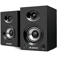 Alesis Elevate 3, Casse Monitor Attive da Scrivania Biamplificate con Audio di Qualità, Ottimi per Film, Gaming, Musica e Produzione Multimediale, 60 W Picco, Coppia