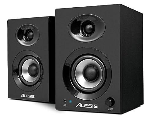 Alesis Elevate 3 Powered Desktop Studio Monitor Speakers 60 Watt Peak - Pair