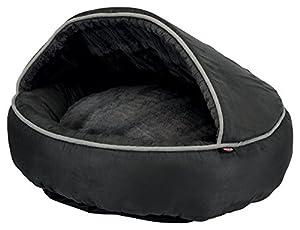 Die Katzenhöhle Timber von TRIXIE ist ein gemütliches Katzenbett aus Plüsch und Velours, in dem Ihre Katzen einen bequemen Schlafplatz finden! Diese kuschelige Höhle hat einen Durchmesser von 55 cm, ist mit einer Polyestervlies-Füllung und Schaumstof...
