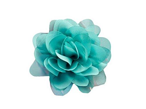 La Loria Mujer Clips de Zapatos Sunny Flower verde Decoraciones Prendedores Adornos para Zapatos, 1...