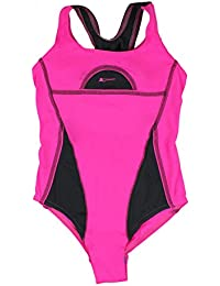 Mädchen Schwimmanzug mit Schwimmerrücken Bademode Kinder Badeanzug mit UV-Schutz