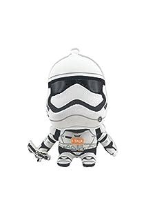 Star Wars sw02529-ugt Mini Figuras de Peluche con Sonido y Colgante, Stormtrooper
