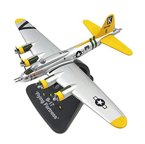 EP-model Flugzeugmodell aus dem Ersten Weltkrieg Waffen Us B-17 Bomber Fertigproduktsimulationsmodell, Retro-Militärdekoration Nicht-Spielzeug-Souvenir,Yellow Us-bomber