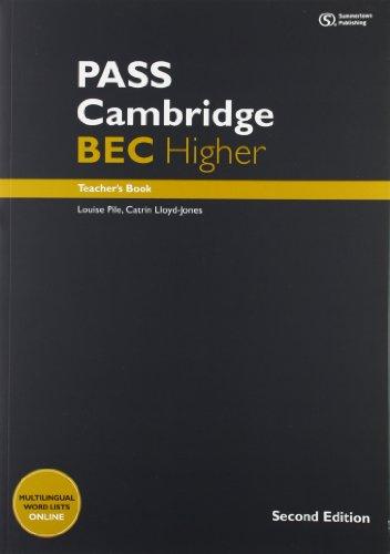 PASS Cambridge BEC Higher: Teacher's Book + Audio CD