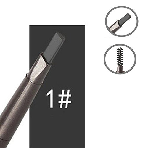 trillycoler-waterproof-automatic-rotated-makeup-eyebrow-pen-eyeline-pencil-brush-black