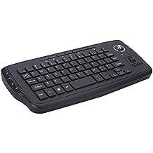 HJYQ Drahtlose Tastatur Maus 2 In 1 2,4 Ghz Mini Maus Trackball Portable Handheld Für Android Windows Desktop
