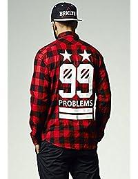 Mister Tee Hommes 99 Stars Flanell Shirt MT227