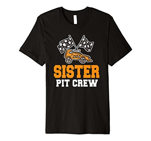(Schwester Geburtstag Pit Crew Shirt Car Race Thema Bday Party)