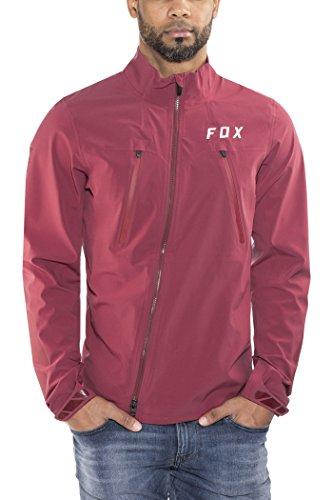 Fox Attack Pro Water Jacket Men Dark Red Größe S 2018 Wasserdichte Jacke