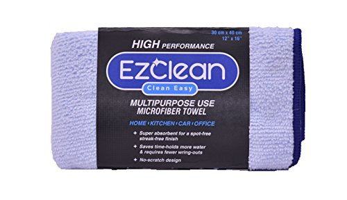 EzClean microfiber Cleaning Cloth (All Purpose) BLUE  available at amazon for Rs.99