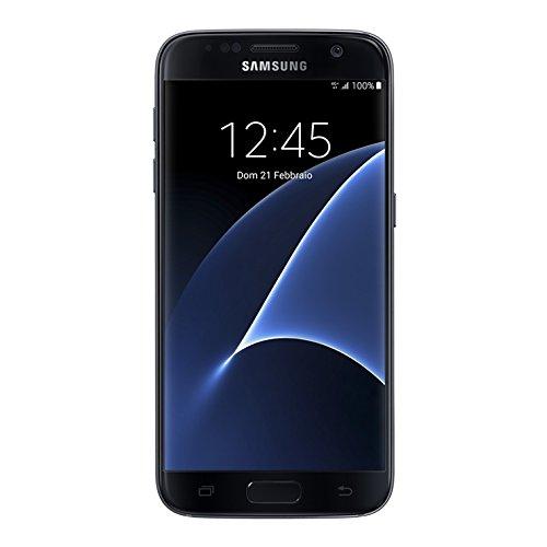 "Foto Samsung G935 Galaxy S7 Smartphone, LTE, Display 5.1"" SAMOLED, Memoria Interna da 32 GB, 4 GB RAM, Nero, Tim [Italia]"