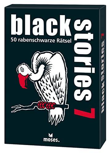 black stories 07: 50 rabenschwarze Rätsel