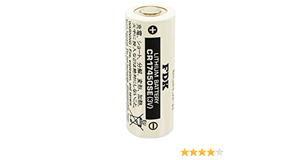 Sanyo Cr 17450 Se Lithium Batterie Cr17450 Elektronik