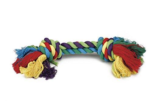 Beeztees Flossy corda 6 colori / 2 nodi, 285 g