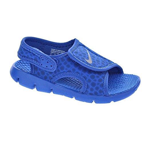 low priced 1d390 a77a7 Nike Kindersandale Sunray Adjust 4, Sandalia con Pulsera Unisex Niños, Azul  (Game Royal