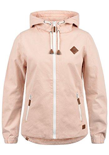 Blend SHE Bibi Damen Übergangsjacke Mantel Parka leichte Jacke mit Kapuze, Größe:M, Farbe:Cameo...
