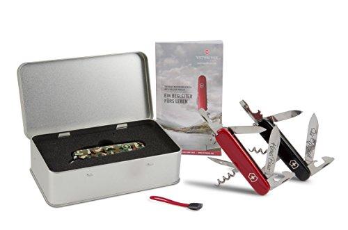 Box Mit Taschenmesser (Victorinox Spartan Taschenmesser Geschenk-Box mit Wunschgravur (Rot))