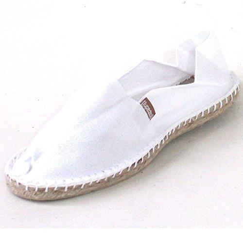ESPADRIJ L'ORIGINALE classic 100 Unisex-Erwachsene Espadrille Halbschuhe Weiß (Blanc)