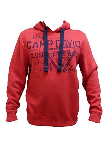 CAMP DAVID SWEATSHIRT WITH HOOD ESPECIALLY FOR MEN 2017 HW FLAG RED L XL XXL XXXL (M)