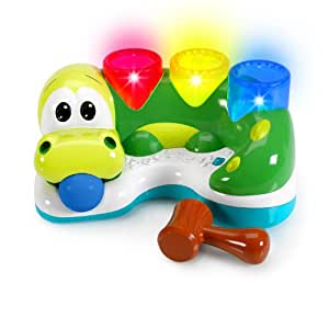 Bright Starts Having A Ball Bop and Chomp Gator (Green, 6 - 36 Months)