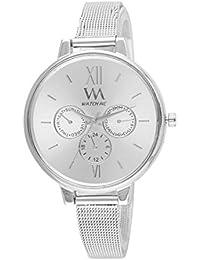 WATCH ME Analogue White Dial Women's Watch (Wmal-288)