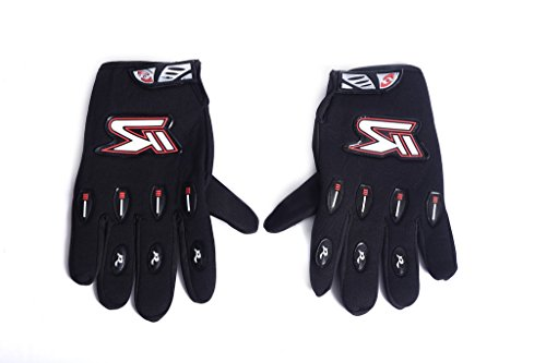 HIVER Full Finger Motorcycle Riding Racing Biking Driving Motorcycle Gloves - Medium Gloves