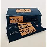 Rolling Clouds 2+2, 2 Rolling Paper/Smoking Paper + 2 Filter Tips/Roach (Pack Of 50)