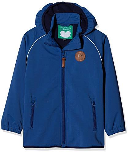 Fred's World by Green Cotton Jungen Softshell Jacket Boy Jacke, Blau (Blue Ocean 019404401), 104 Green Cotton Jacke