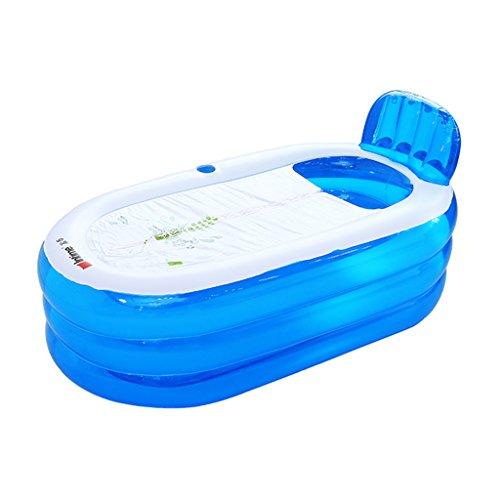 JCOCO Aufblasbare Badewanne 160 * 85 cm Erwachsene Haushalt Verdickung übergroßen Portable Folding Badewanne Isolierung Durable Leicht zu Reinigen -