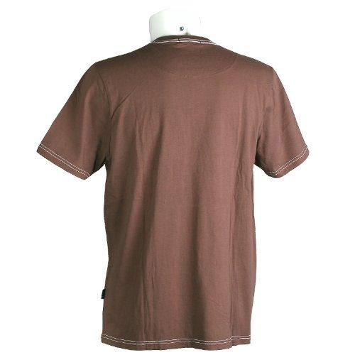 Kitaro, kurzarm Shirt T-Shirt, 191540, schoko [10503] Schoko