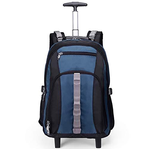 FRYP Reiserucksack Einhebelgepäck Student Computer Rucksack Multifunktionstasche Gr. 51 cm, blau