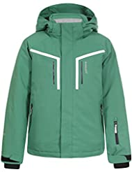 ICEPEAK Niños chaqueta harto Jr, otoño/invierno, infantil, color verde, tamaño 128