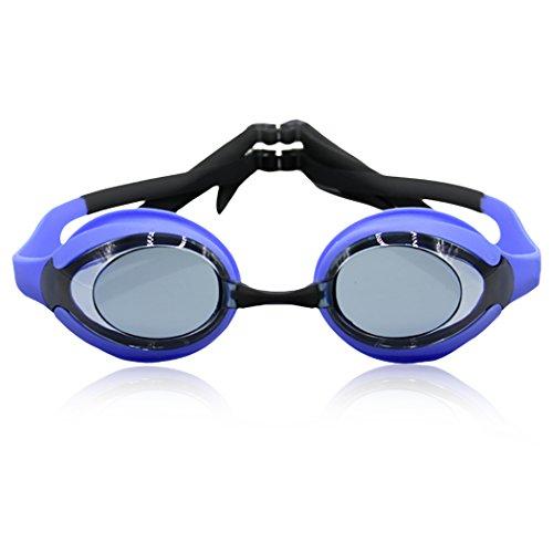 Fansport Kinder Taucherbrille Schwimmbrille Wasserdicht Klare Sicht Anti Fog Schwimmbrille für Jungen Mädchen