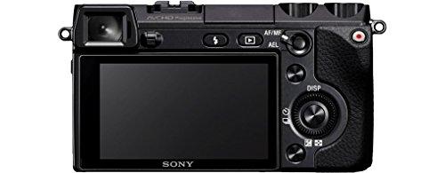 Sony NEX-7KB Systemkamera (24 Megapixel, 7,5 cm (3 Zoll) Display, Full HD Video) Kit inkl. 18-55 mm Objektiv - 6