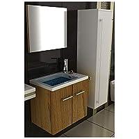 waschtischunterschrank gaste wc set mit waschbecken aus mineralguss unterschrank mit softclose funktion