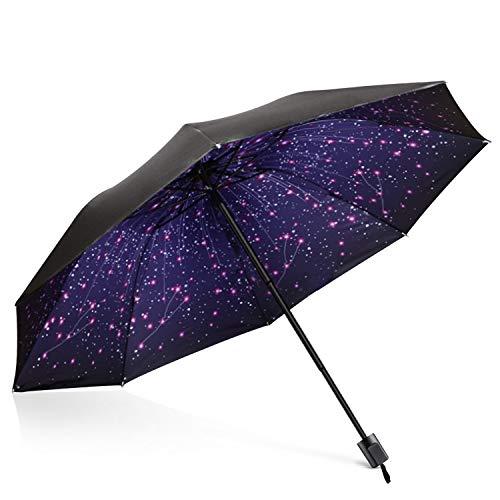 DORRISO Vogue Mujer Plegable Paraguas Mini Paraguas