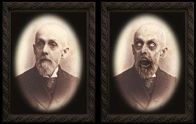 Cultica Halloween Bild Verwandlungsbild Horror Galerie des Grauens 07
