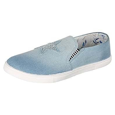 Ethics Women's Blue Sneakers - 4 UK